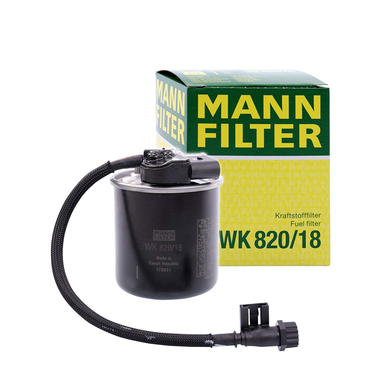 MANN FILTER WK 820/18 Fuel Filter for Mercedes Benz C Class E Class M Class - 副本