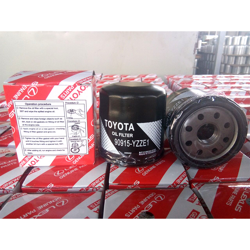 Engine Oil Filter Toyota Oil Filter 90915-YZZE1 Corolla 1.3 Aygo Camry & Prius