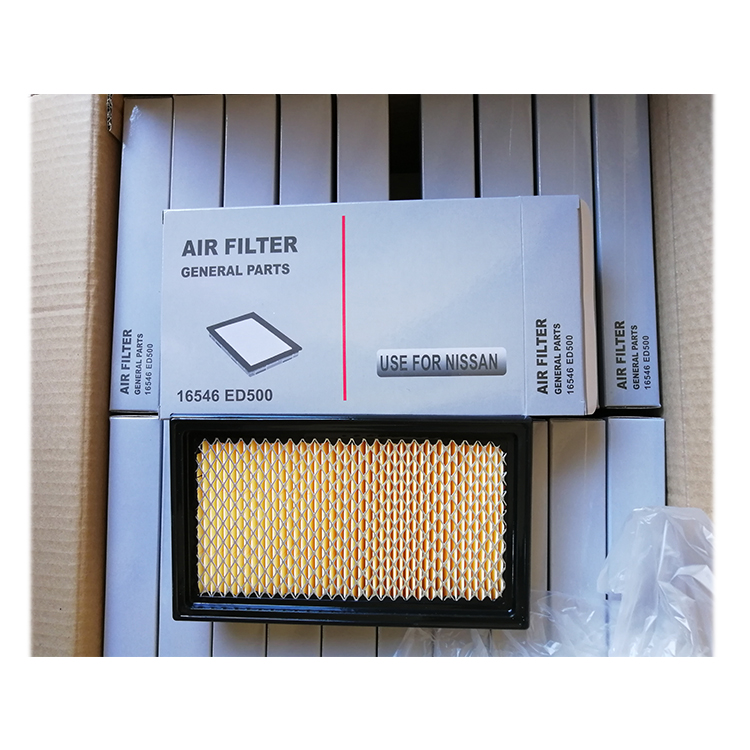 Nissan Tiida series air filter car filter OE 16546-ED500 one pcs