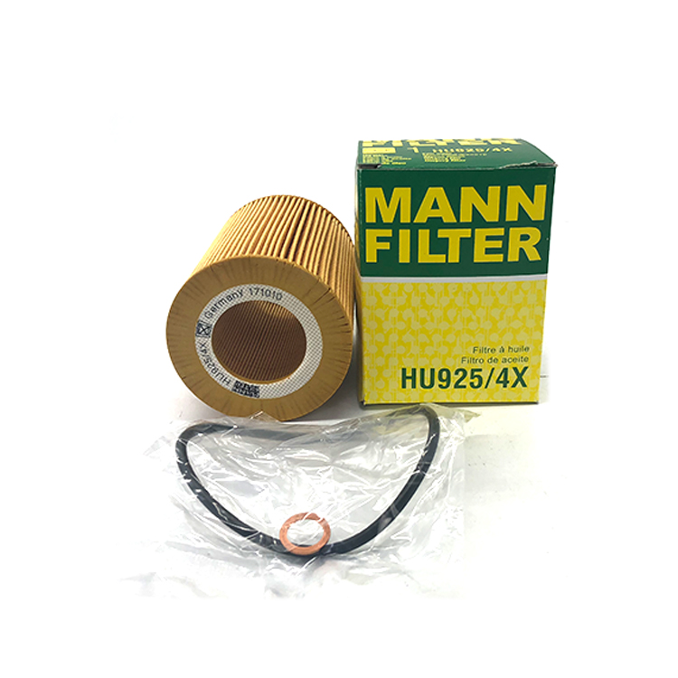 OEM BMW Engine Oil Filter MANN FILTER HU925/4x