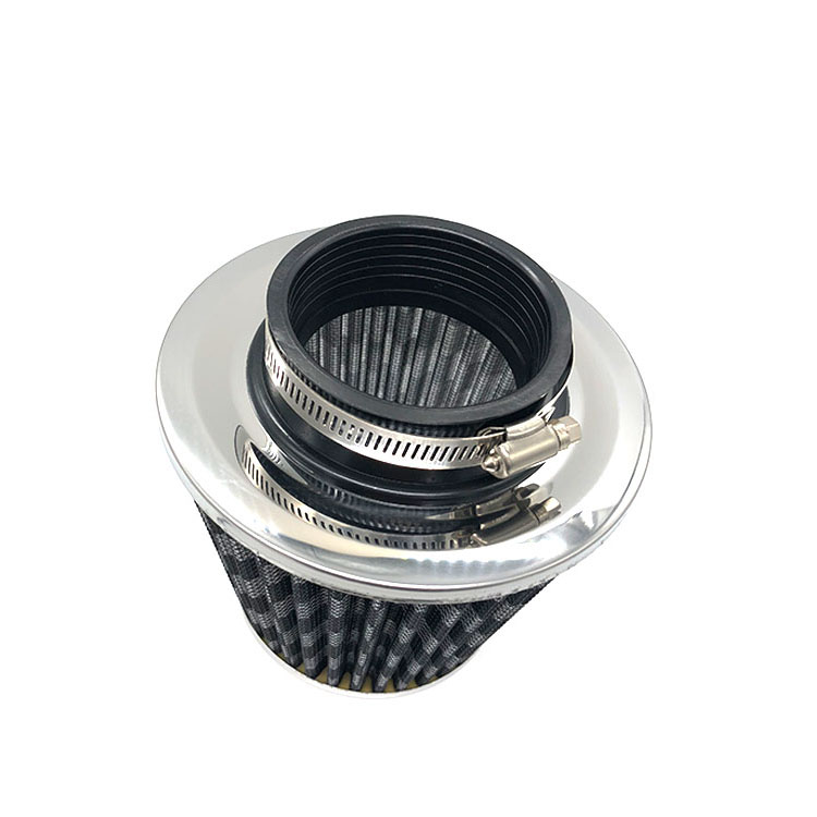 Performance black conical air filter replacement with in low price OEM REF.12510-CN