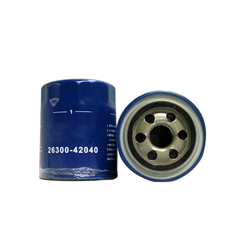 GENUINE HYUNDAI SPIN-ON OIL FILTER 26300-42040