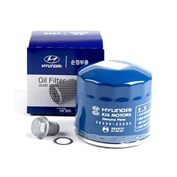 OEM Gasoline Engine Oil Filter Assy 26300-35503/26300-35504 HYUNDAI 11-14 Sonata Hybrid