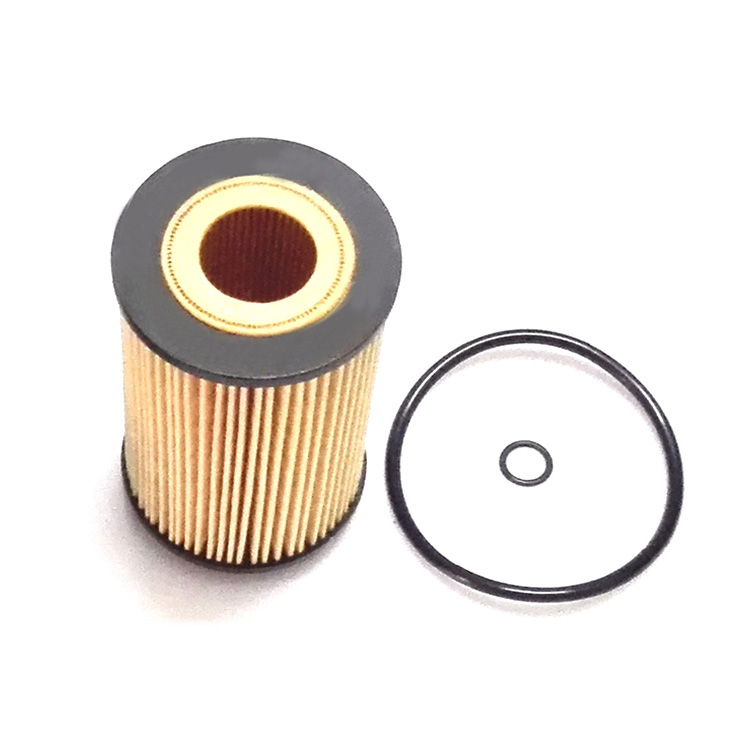 Original Yellow Car Engine Oil Filter OEM 26320-27000 Removal Dust For HYUNDAI
