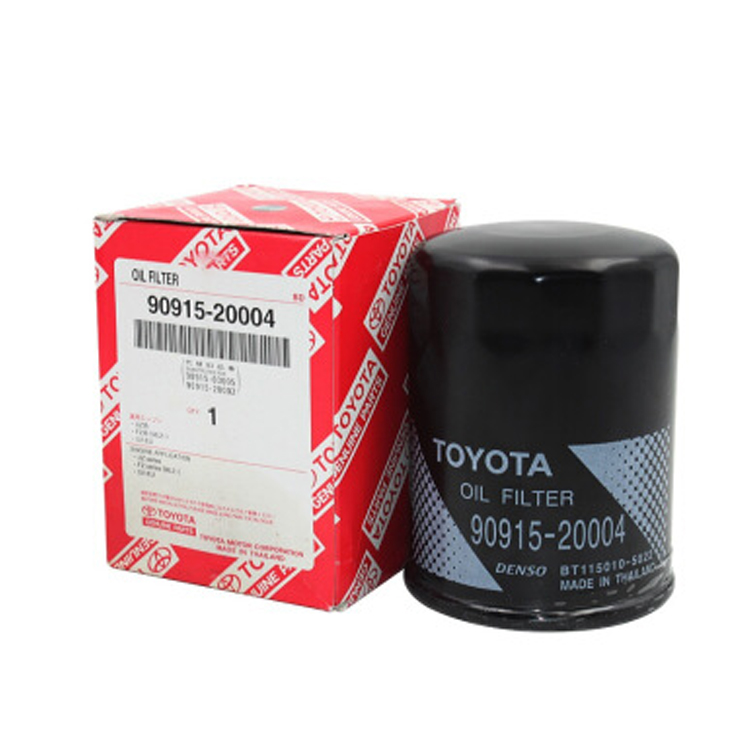 TOYOTA Spare Parts Genuine Oil Filter 90915-20004 For TOYOTA LANDCRUISER HILUX PRADO