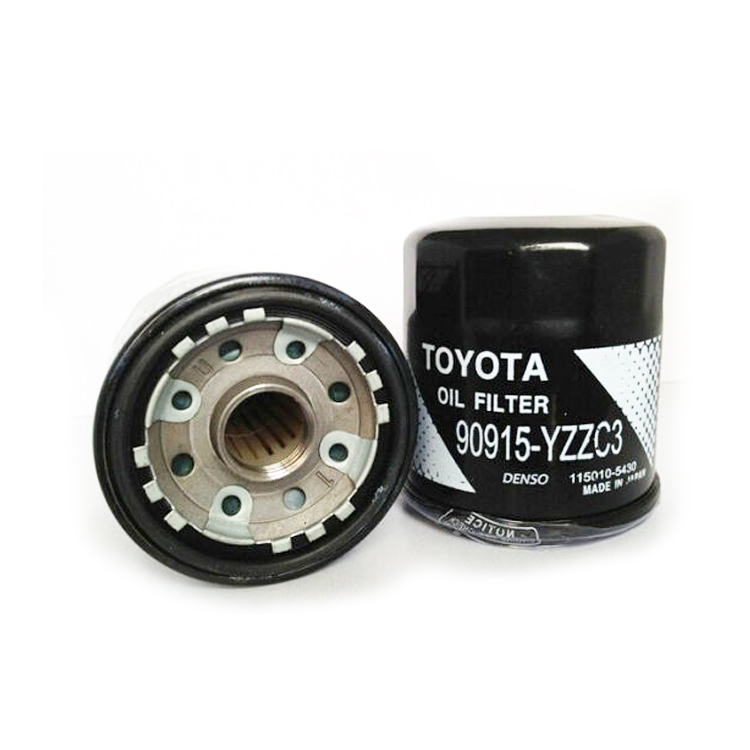 Oil Filter Supplier for Toyota 90915-YZZC3 Oil Filter Price China Factory