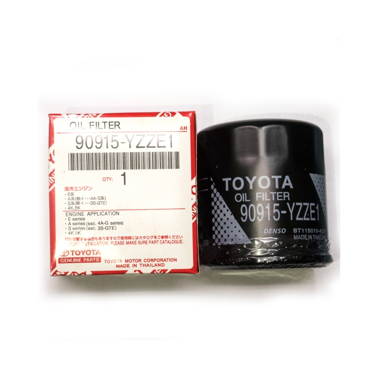 Engine Oil Filter Toyota Oil Filter 90915-YZZE1 Corolla 1.3 Aygo Camry