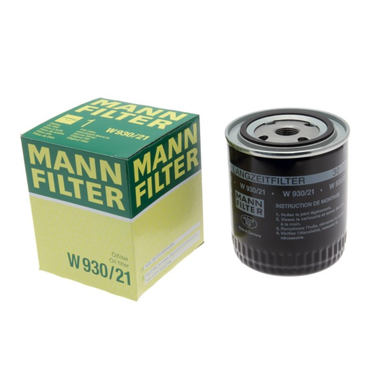 China Cartridge Oil Filter W 930/21 MANN HUMMEL 078115561D 078115561H 078115561J for Audi