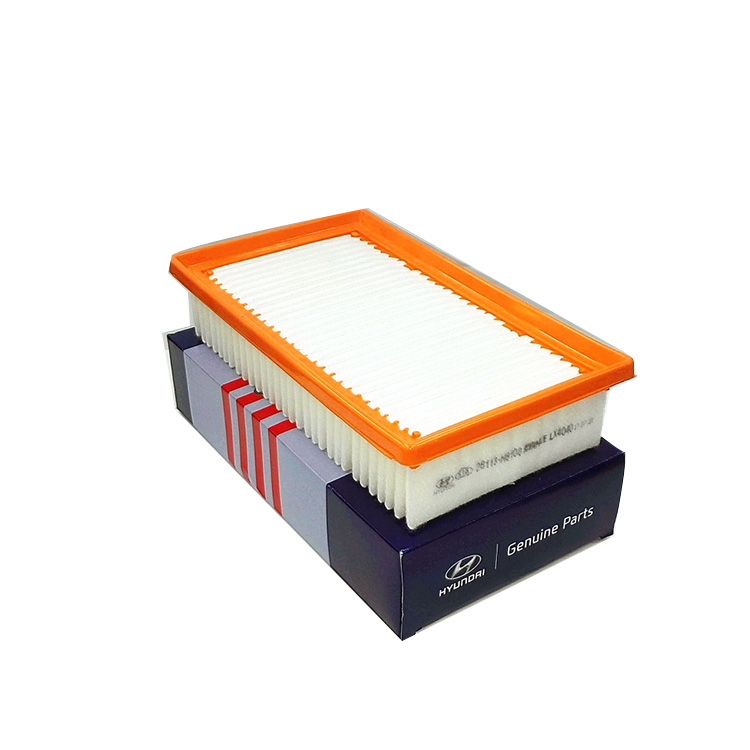 28113-H8100 polyurethane molded automotive air filter with hi-performance wood pulp paper