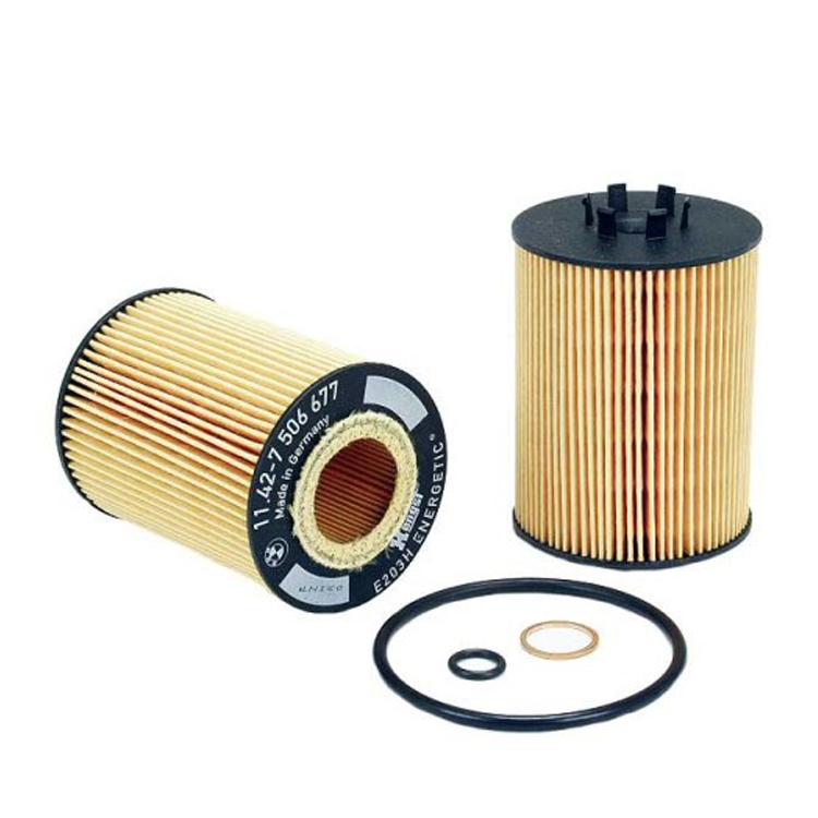 Genuine BMW 11427511161 Oil Filter Kit New Mann Filter Engine Oil Filter HU7155X