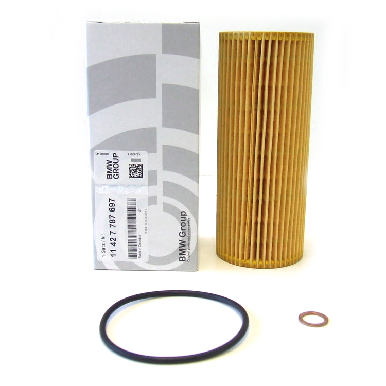 Genuine BMW Engine Set Oil Filter Element 11427787697