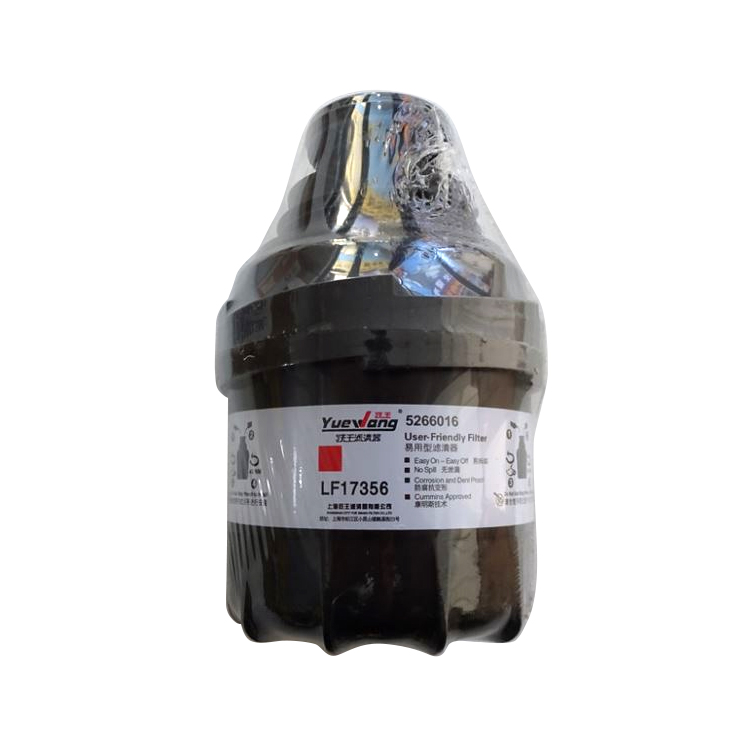 China Professional diesel engine Auto Parts Car Filter Oil Filter Lf17356 user of foton truck oil filter 5260016