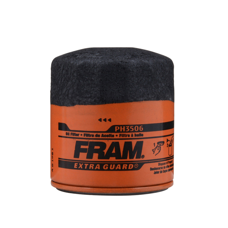 Fram Filters 3.5 in Extra Guard Spin On Oil Filter PH3506 Chevy Camaro Pontiac Firebird