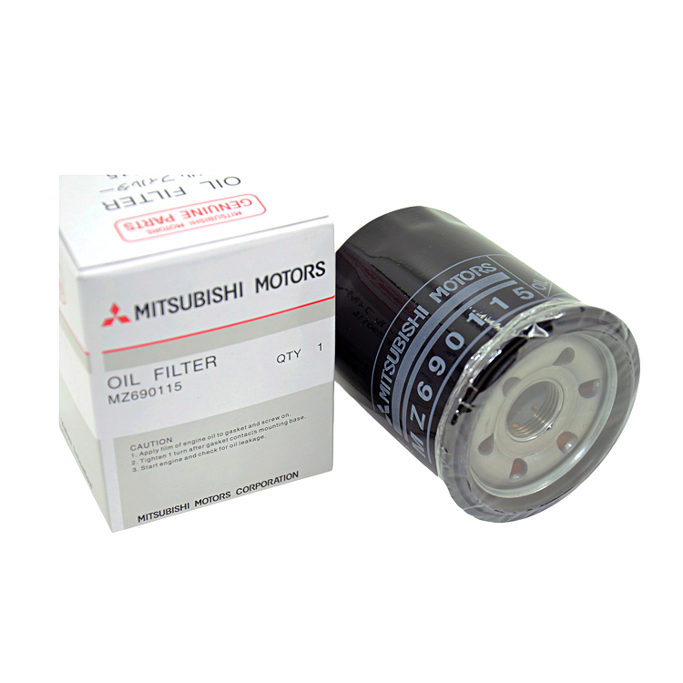 Auto engine assembly MZ690115 MITSUBISHI oil filter