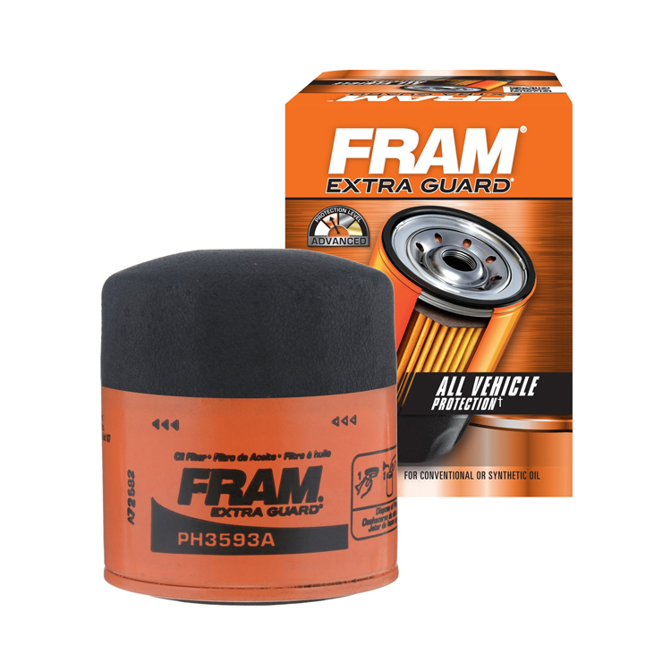Oil Filter FRAM Extra Guard Ph3593a Replaces Sierra 237824