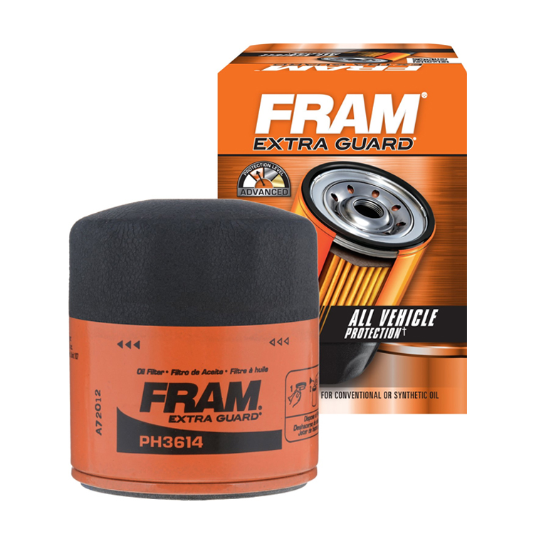 Engine FRAM Extra Guard Canister Oil Filter PN PH3614