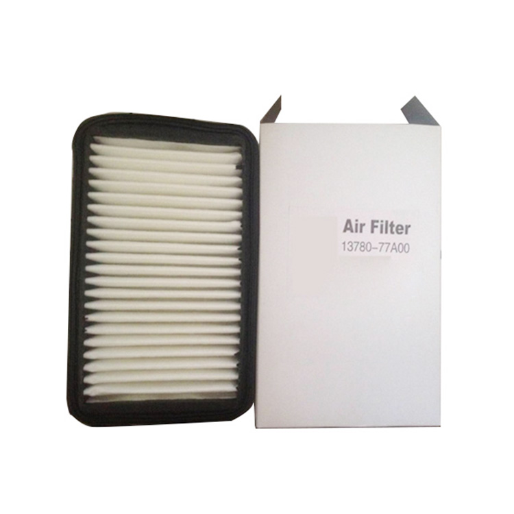 Genuine Auto Parts Store 13780-77A00 performance hepa air filter For suzuki