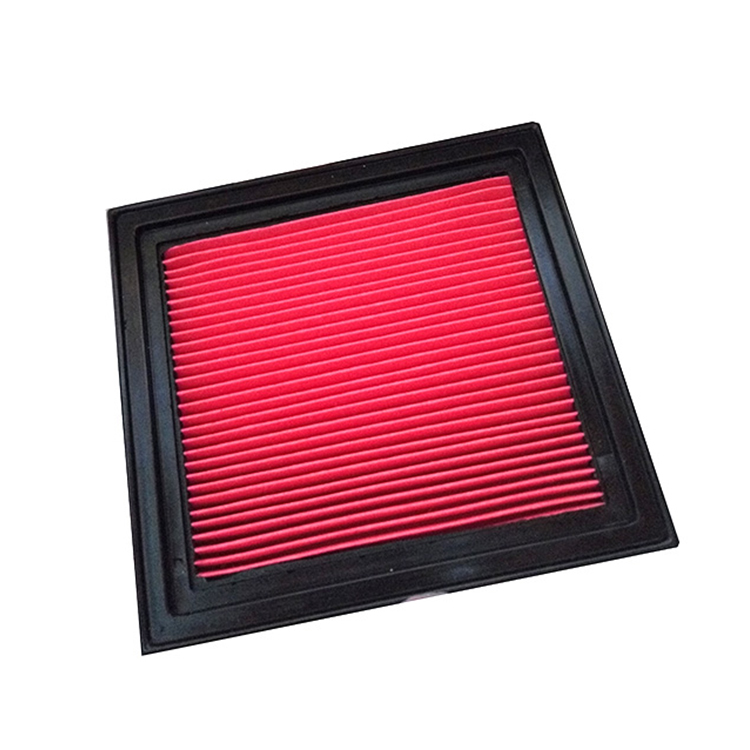 Red Paper use for NISSAN 16546-41B00 performance car air filter intake