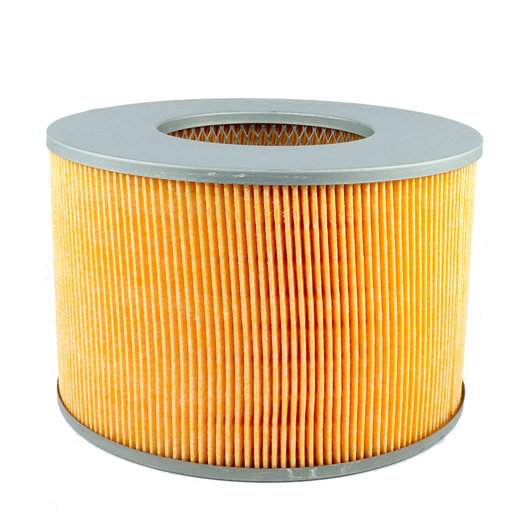 TOYOTA Wholesales auto metal mesh Yellow paper automotive filters for Coaster OEM 17801-67060
