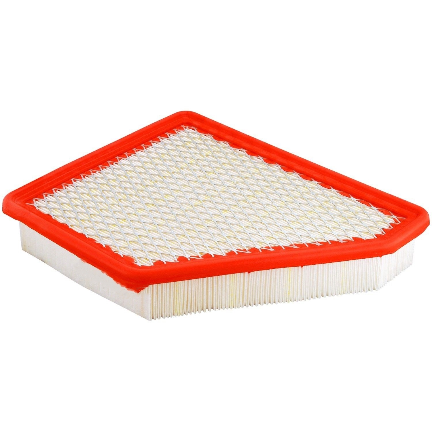 Durable modeling Orange PU white paper iron mesh auto CA10465 car air filters ratings for FRAM