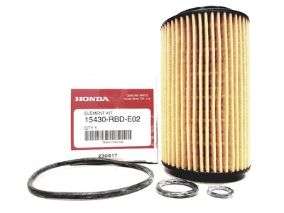 Genuine Automobiles Filter paper 15430-RBD-E026 oil filter element replacement for Mitsubishi